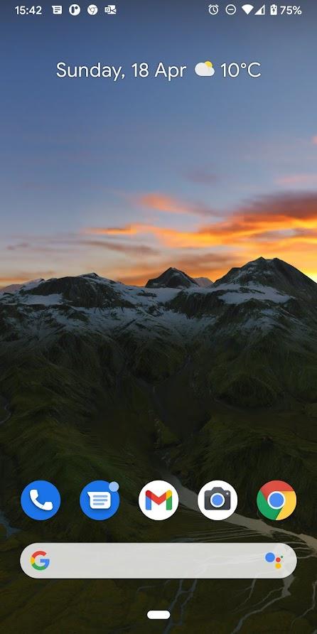 Iceland 3D Live Wallpaper