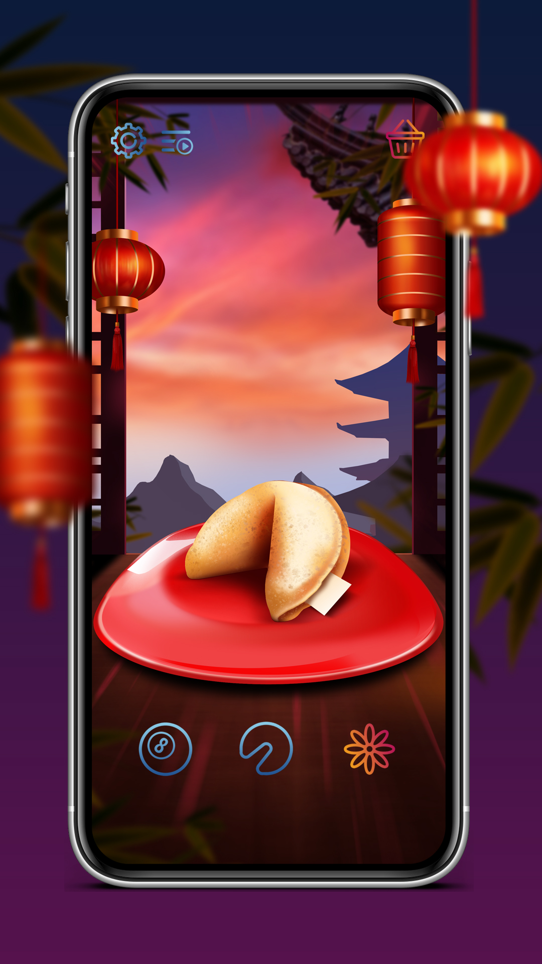 Magic Ball & Fortune Cookie