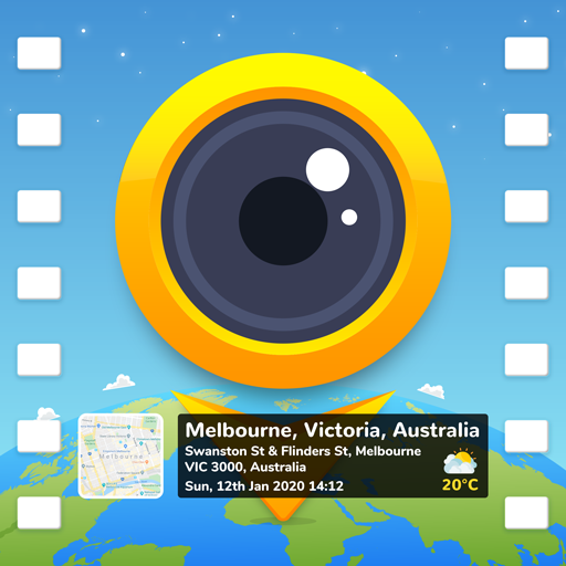 GPS video camera: Video stamp & watermark on video