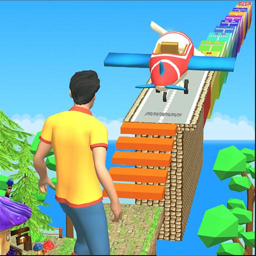 Jungle Fly Run Race 3D Game - Sky Glider Simulator