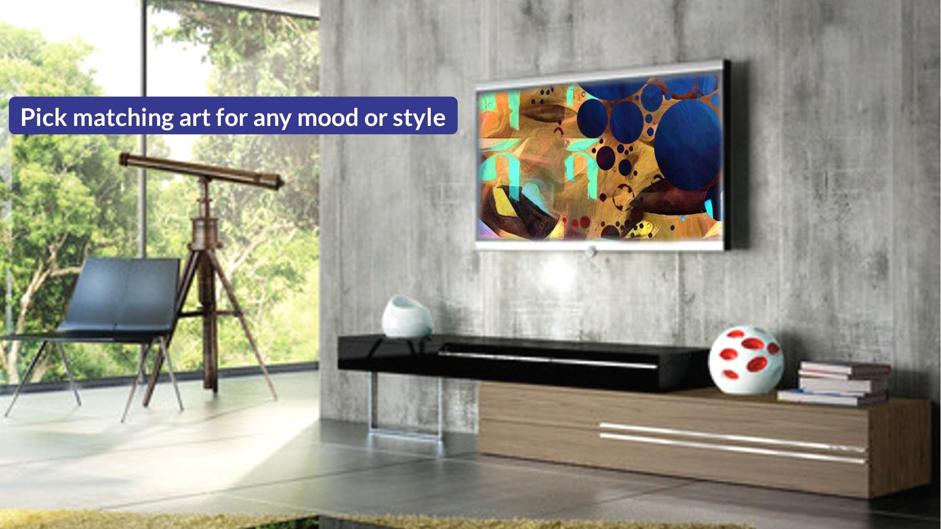Kreoz: Daily Art on your TV