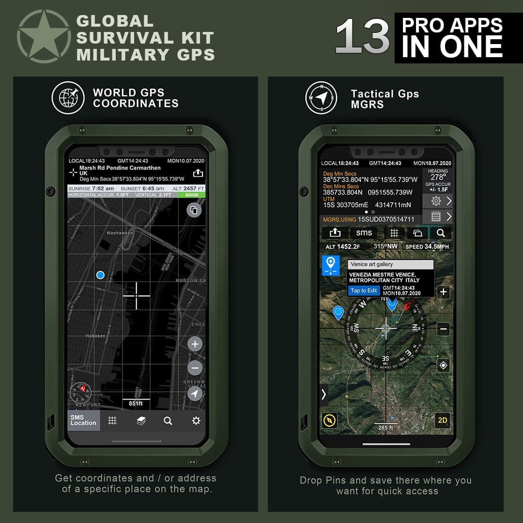Military GPS Survival Kit