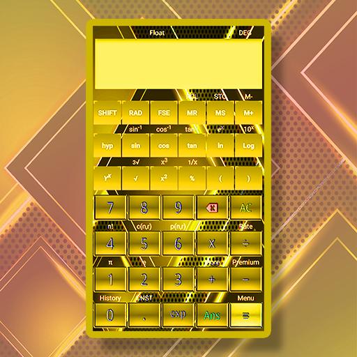 Gold Scientific Calculator