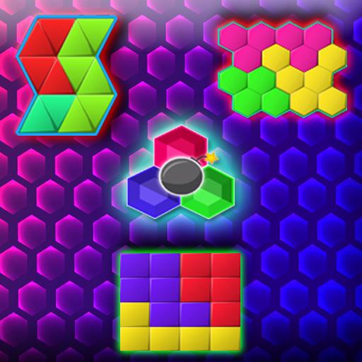 Hexa Jigsaw Puzzle - Hexa Puzzle - Shape Puzzle