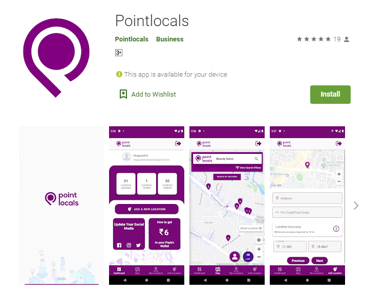 Pointlocals