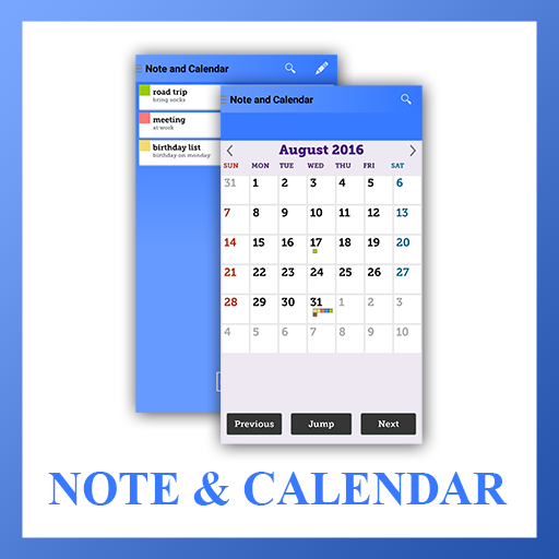 Simple Note and Calendar