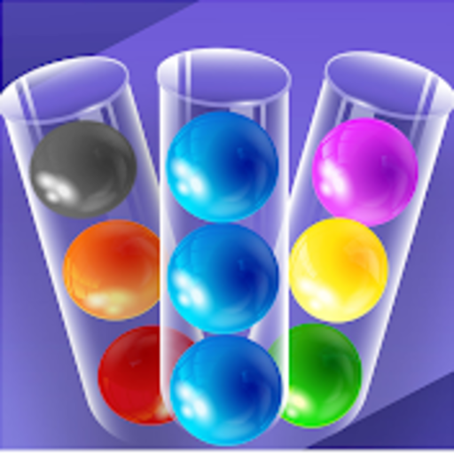 Water Color Ball Swap - 3D Bottle Sort Puzzle Game