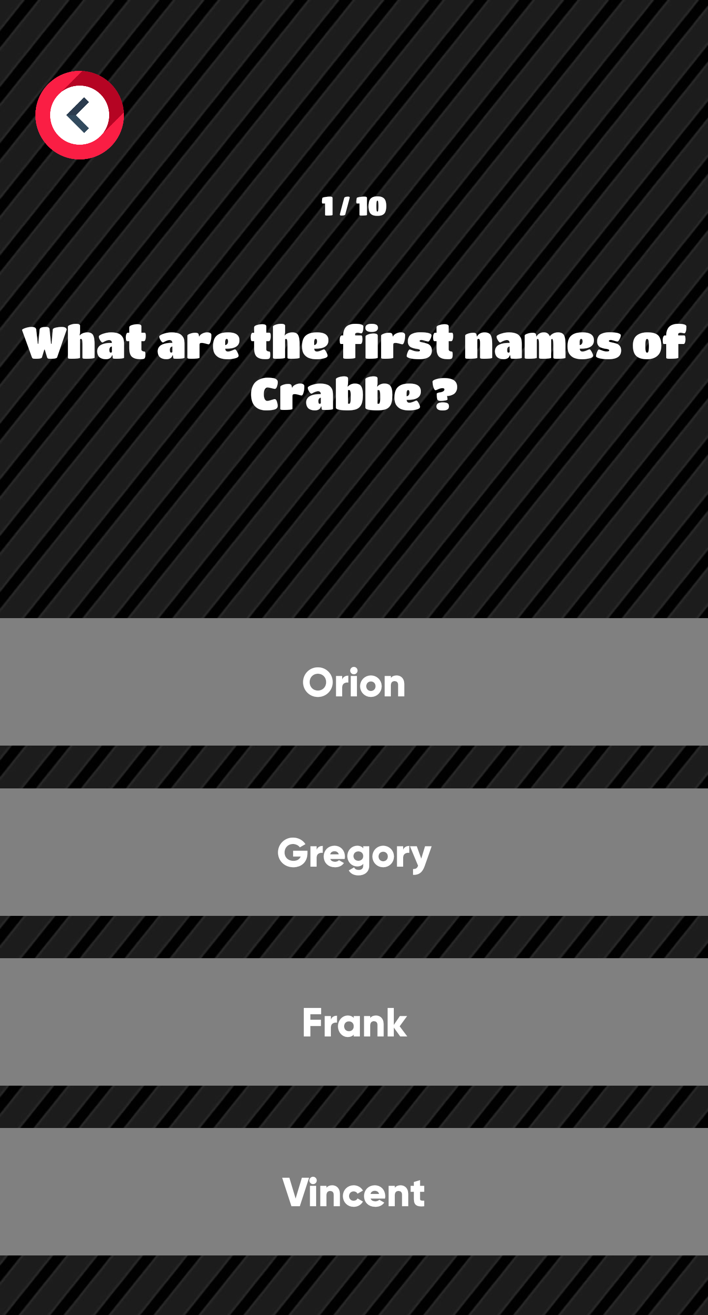 Harry Potter Quiz and Trivia