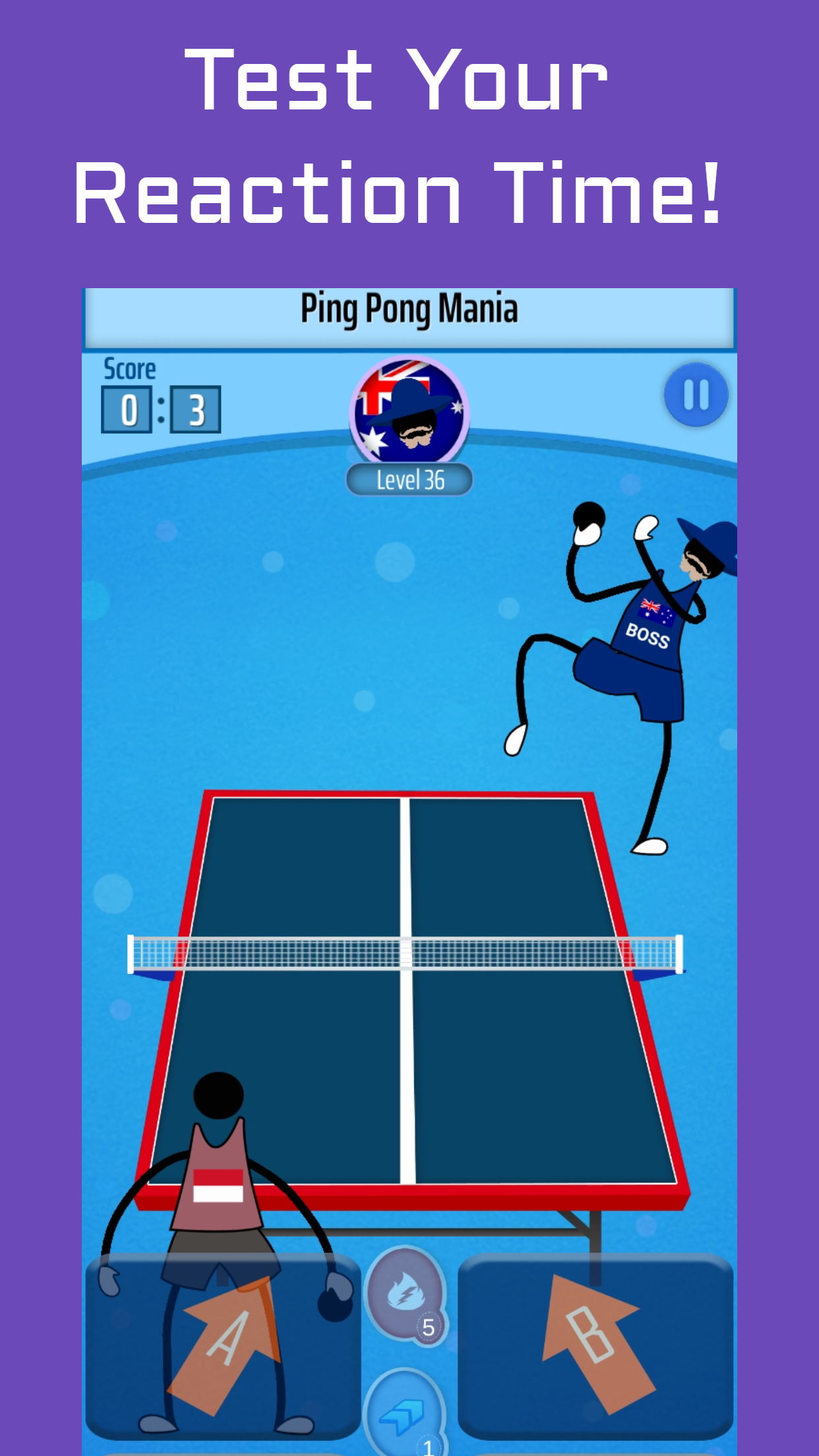 Ping Pong Mania - Multiplayer Table Tennis