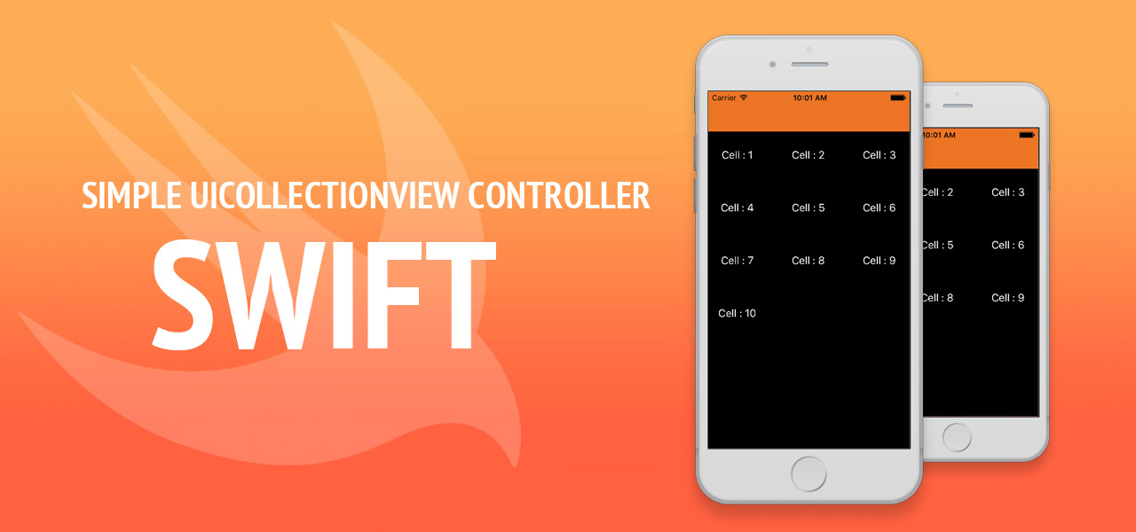 Simple UICollectionView Controller - Swift