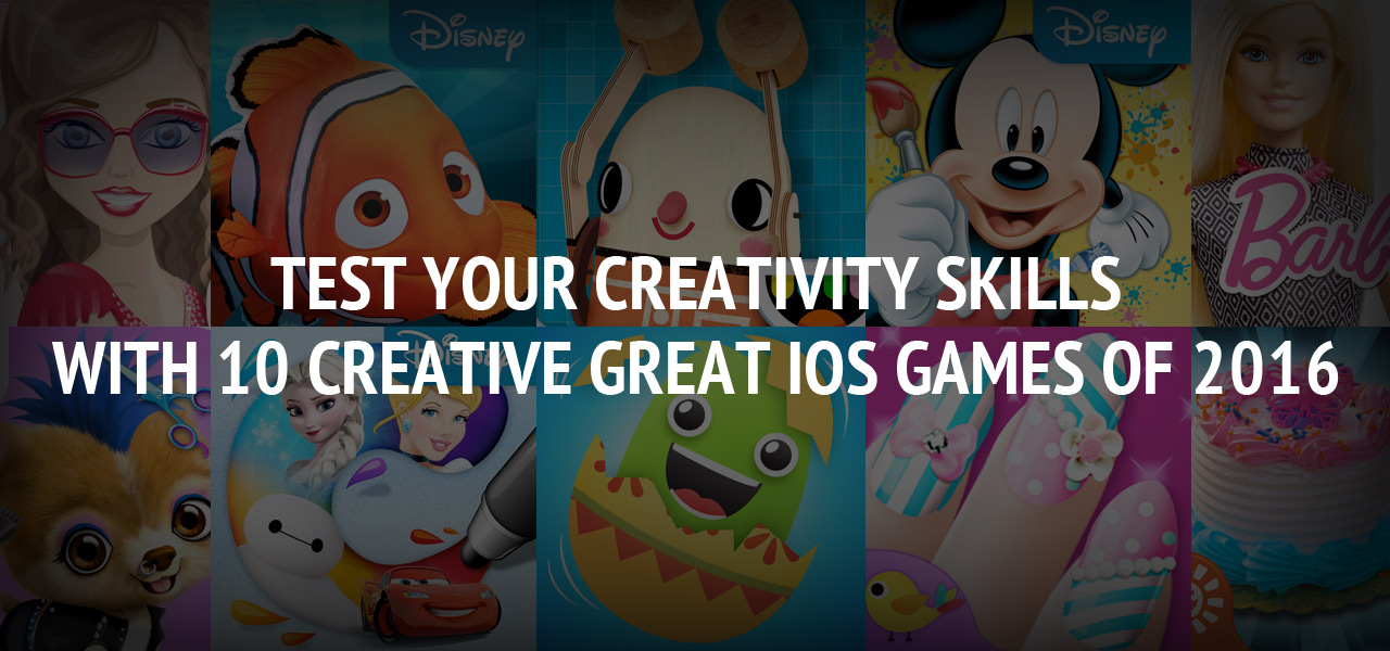 Test Your Creativity Skills with 10 Creative Great iOS Games of 2016