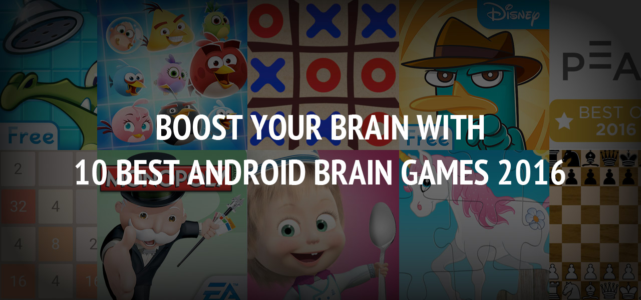 Boost Your Brain with 10 Best Android Brain Games 2016