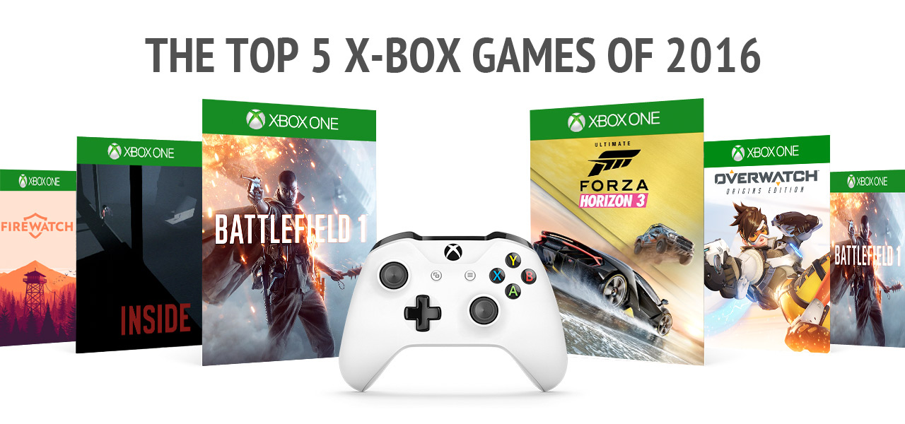 The Top 5 X-Box Games Of 2016