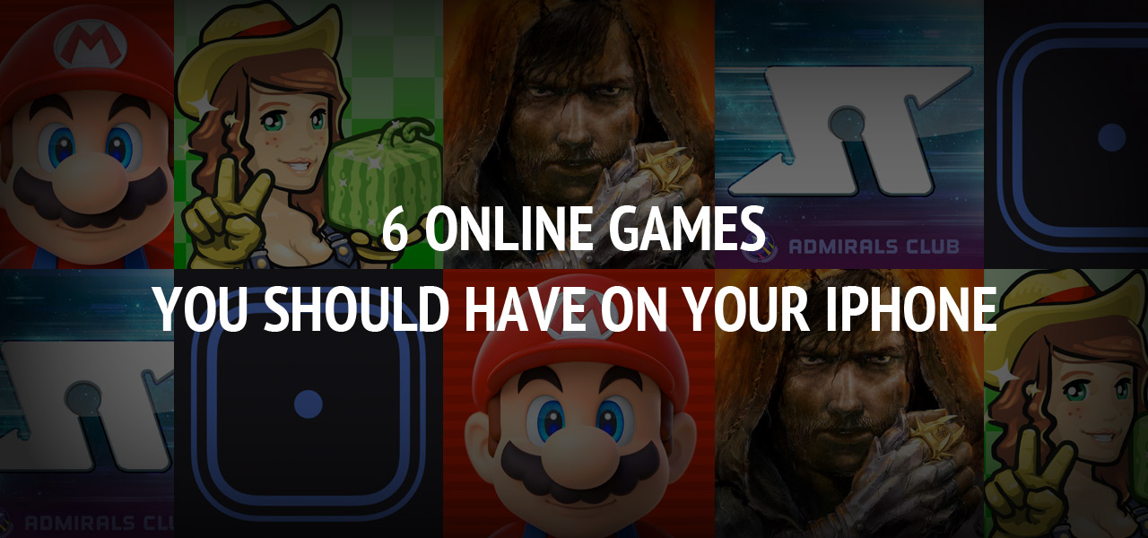 6 online games you should have on your iPhone