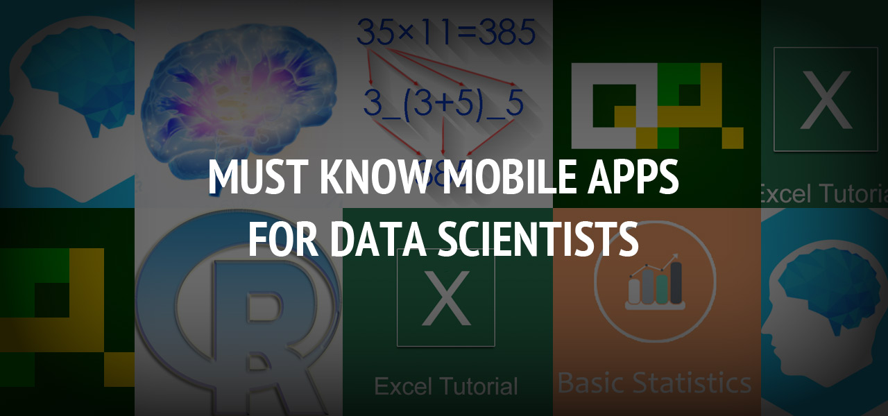 Must know Mobile Apps for Data Scientists