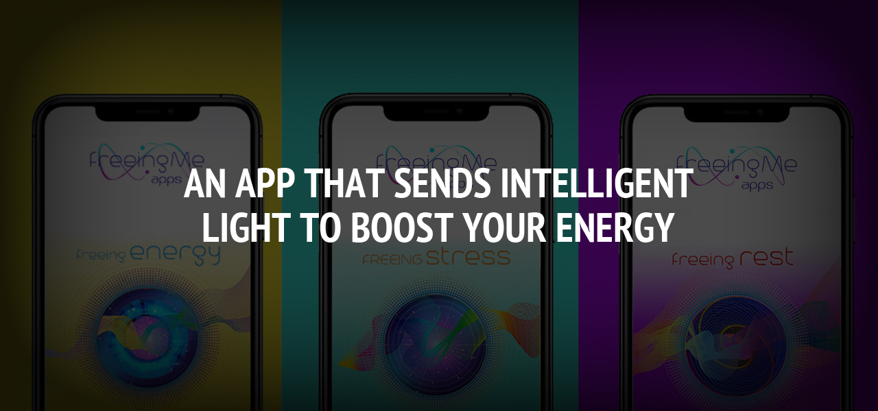 An app that sends intelligent light to boost your energy